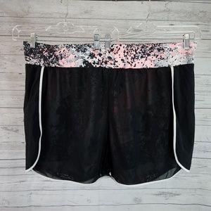Fabletics Renata Shorts Sz 3X Black Pink